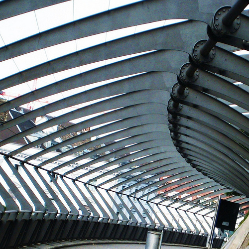 Calatrava in Zurich, flickrfan, zurich, switzerland, station, calatrava, architecture, steel, superaplus,photo by swisscan on FlickrFan Stan's site licensed under Creative Commons